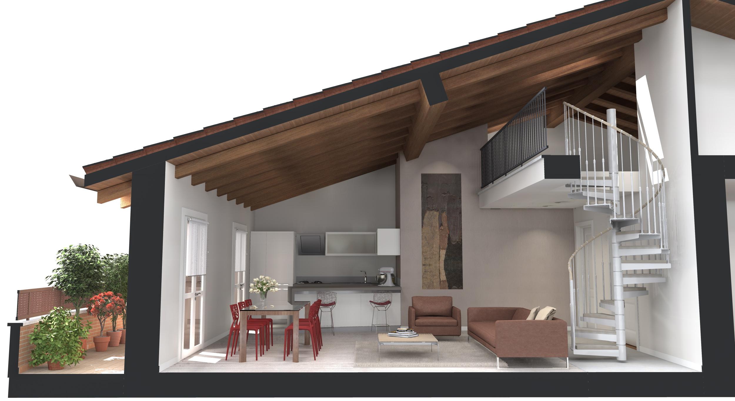 Appartamenti di nuova costruzione ad argenta ferrara in for Prospetti di villette