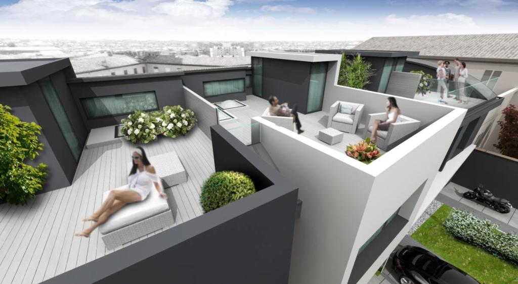 Progetti Esterni Villette : Villette a ferrara in via fabbri donegà costruzioni