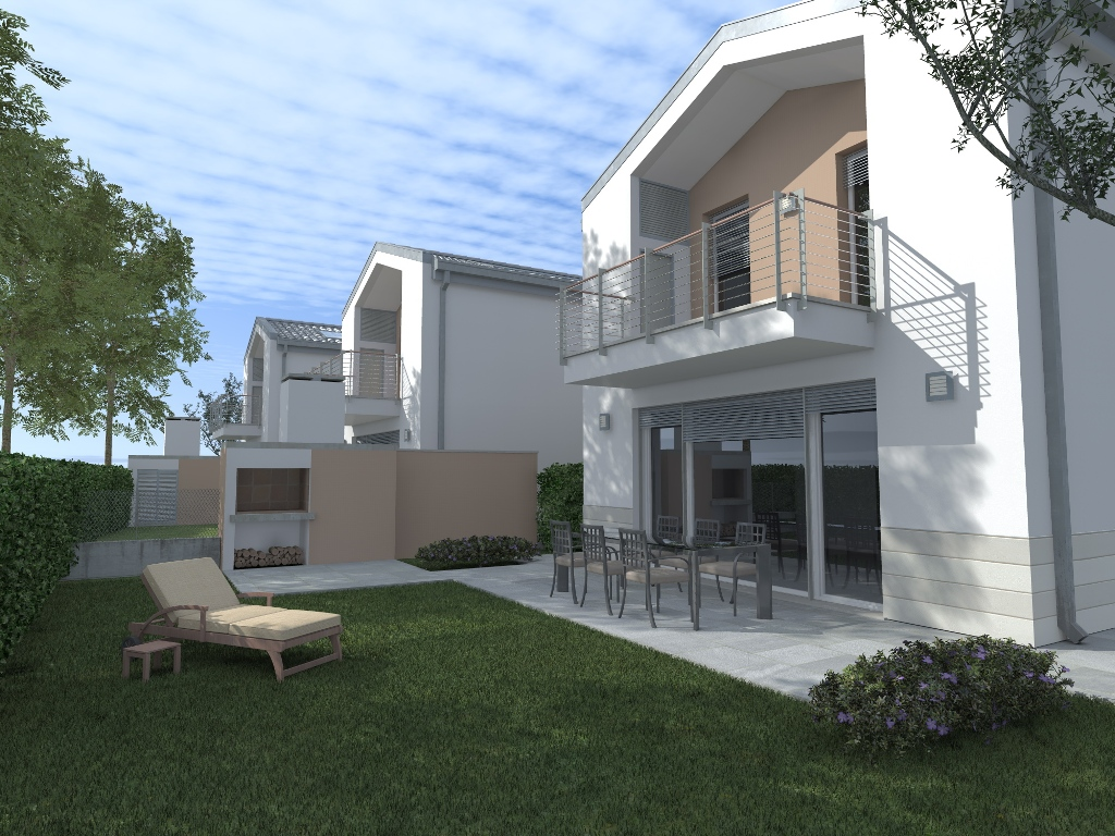 Progetti Esterni Case : Facciate ville moderne good progetti esterni di case moderne foto
